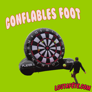 Gonflables foot