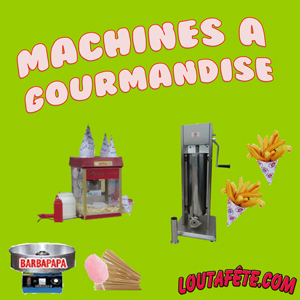 Machines à gourmandises