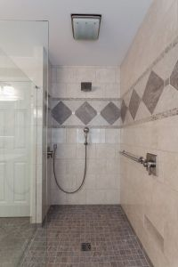 Curbless Shower Design | Lou Vaughn Remodeling