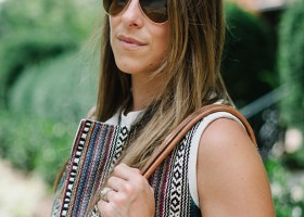 Maje Embroidered Vest * Summer Style Inspiration (5)
