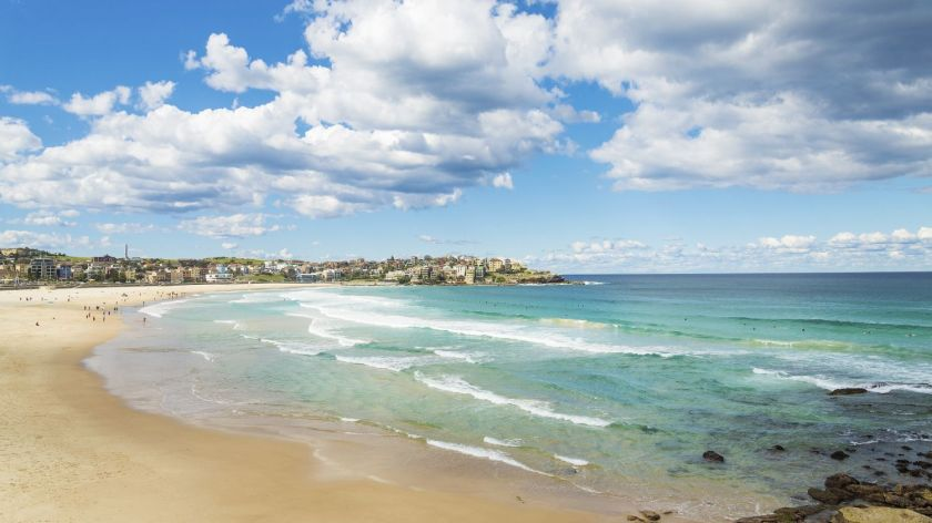 Credits. Bondi beach, Australia by Travelphotography/Can Stock Photos