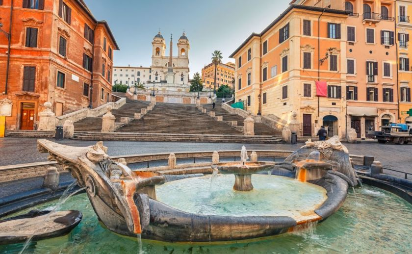 credits: Rome by Sborisov/can stock photo