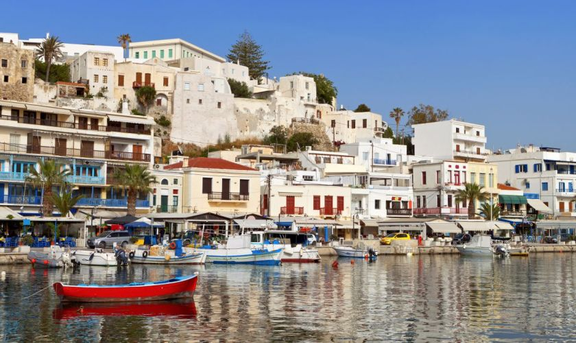Naxos by Karapas/can stock photo