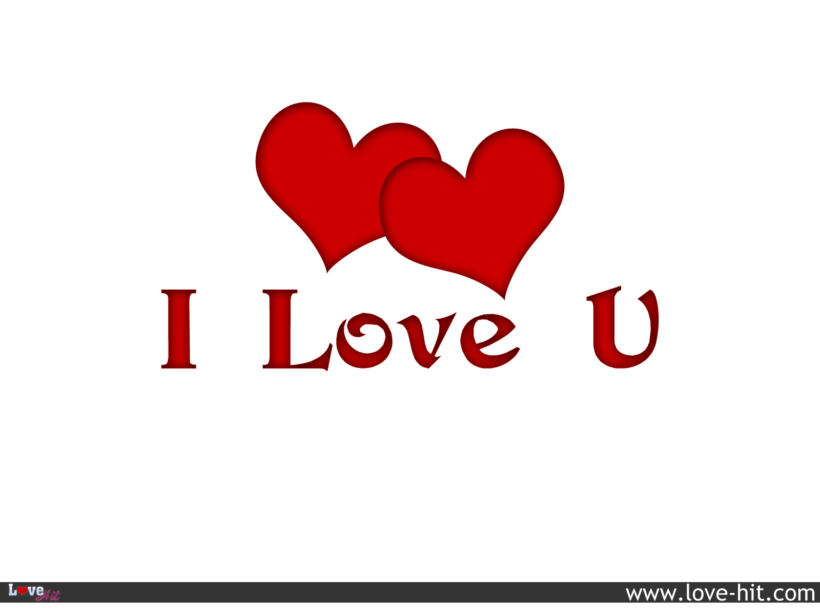 Cute Wallpapers Of Love Hearts I Love You Red Hearts
