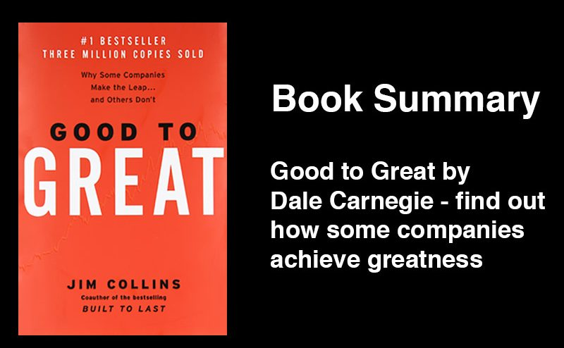 Good To Great Book Summary Love Startups