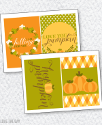 Hey Pumpkin Bridal Shower PRINTABLE: 5X7 Party Signs