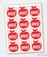 Apple Of My Eye Valentine PRINTABLE by Love The Day
