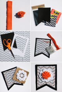 Felt Halloween Decorations on Love The Day Blog