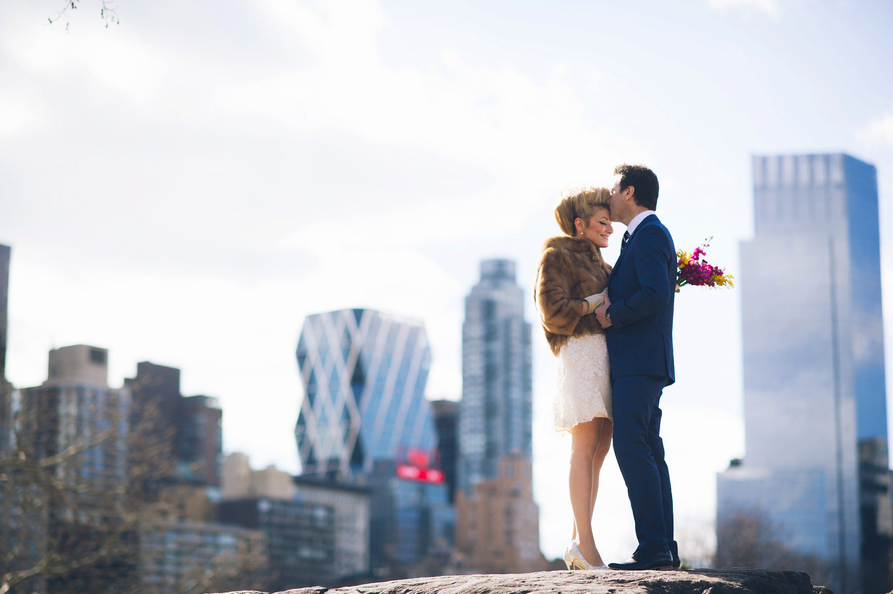 Hochzeit New York New York Elopement Of Anne And Grant Heiraten In Nyc