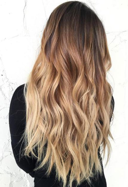 Platinum Hair Curly Best Ombre Hairstyles Blonde Red Black And Brown Hair
