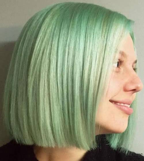 Blonde Balayage Hair Dye 31 Glamorous Green Hairstyle Ideas 2020 Update