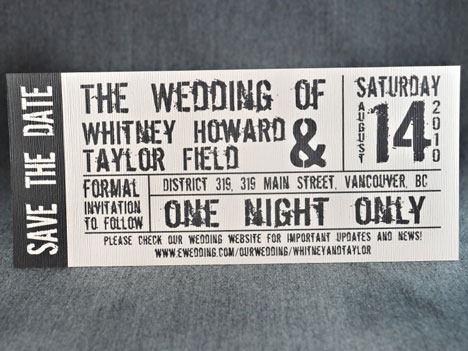 concert-tcket-wedding-invitationjpg 468×351 pixels Books Worth - concert ticket invitations