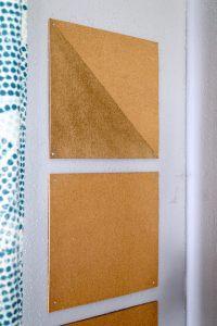 My DIY Cork Board | Love & Renovations