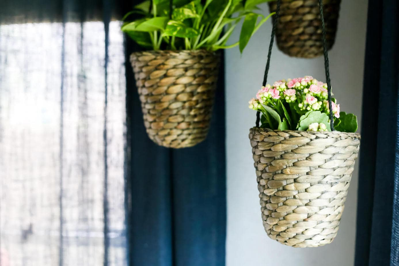 Ikea Planters Large Diy Indoor Hanging Planters Love And Renovations