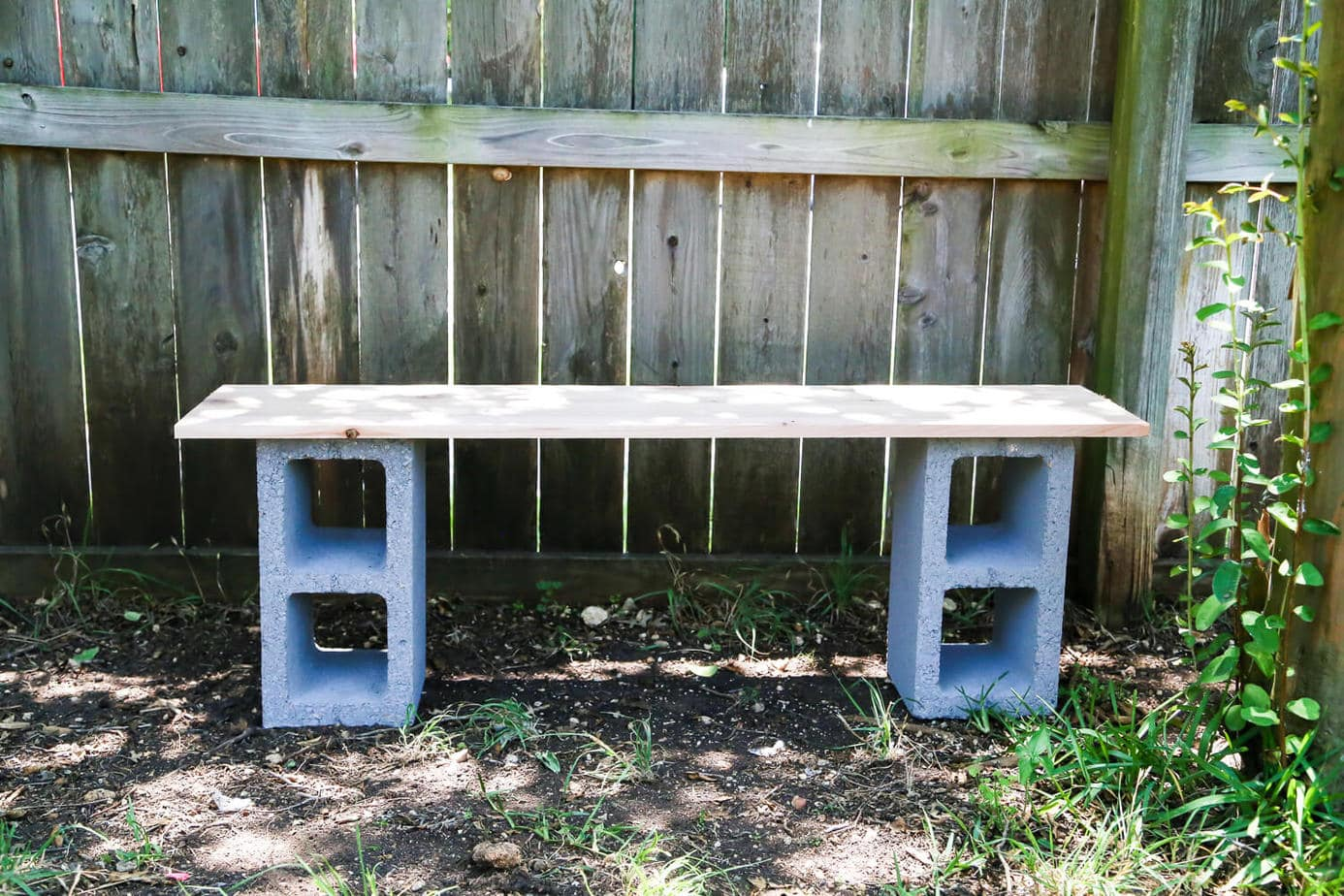 Build Plant Stand Diy Cinderblock Plant Shelves Love And Renovations