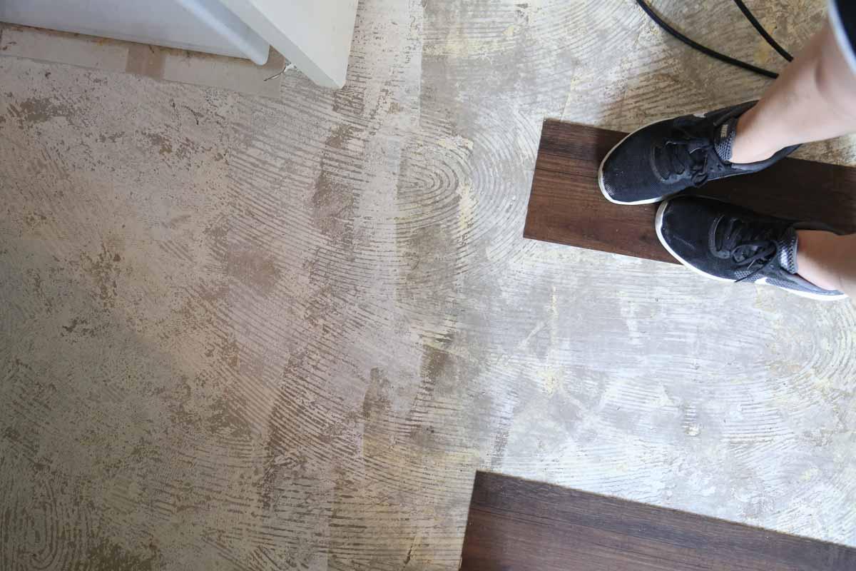 How To Install Vinyl Plank Flooring Love Renovations