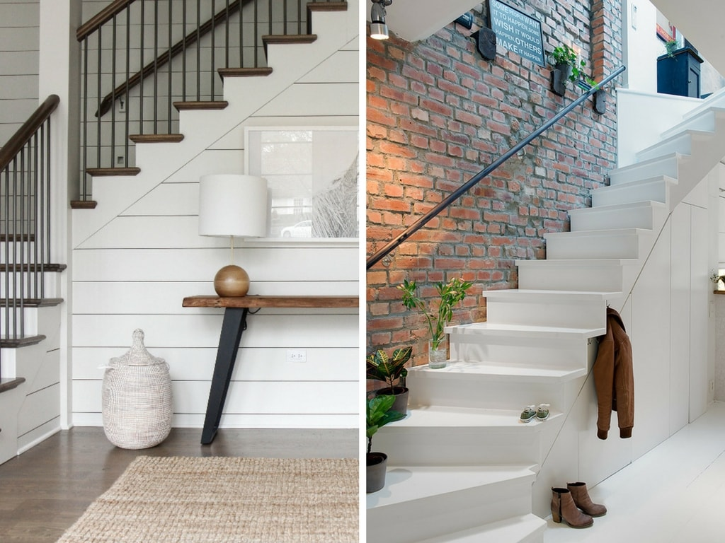 Treppenaufgang Tapezieren 10 Ideas For How To Decorate A Staircase - Love & Renovations