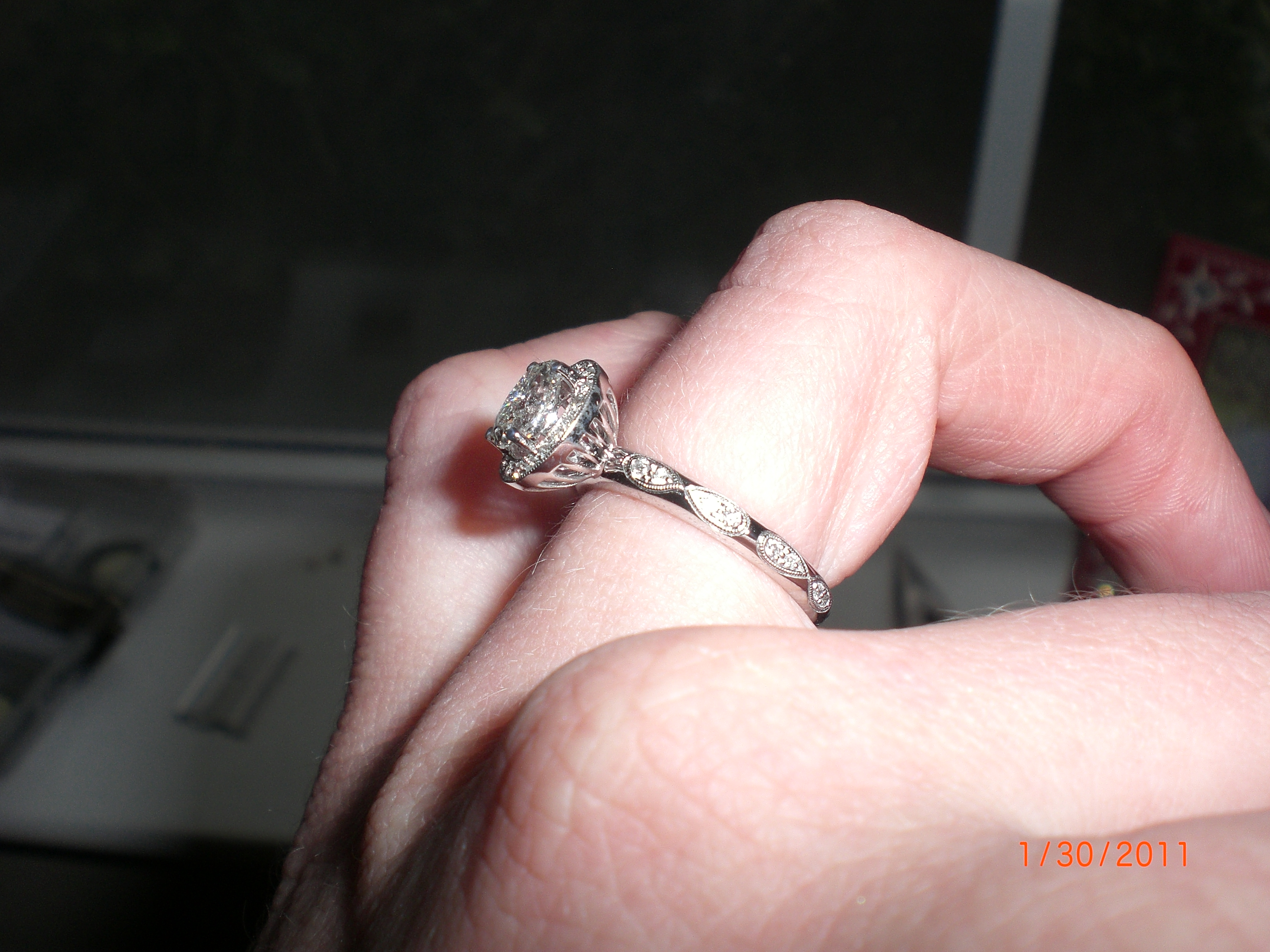 infinity infinity wedding rings My wedding band has the infinity symbol circling the whole ring Inside the top infinity are 2 stones one aquamarine and one ruby our birthstones