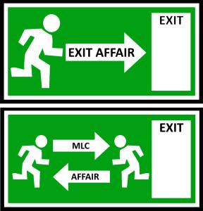 Exit Affair vs. MLC AffaIr