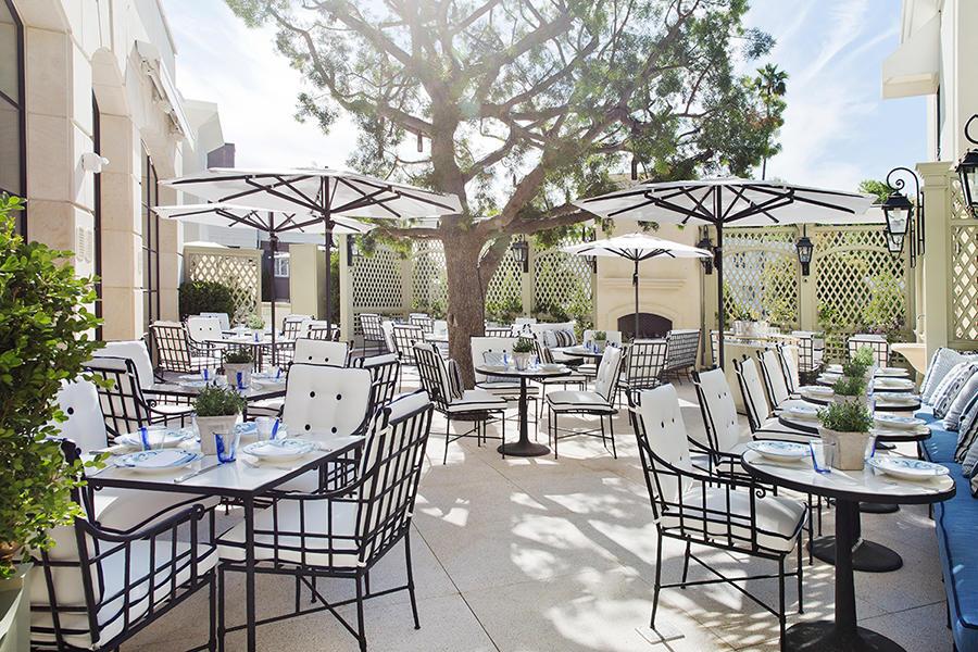 Best Restaurant Patios In Beverly Hills