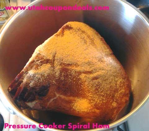 pressure cooker Spiral Ham