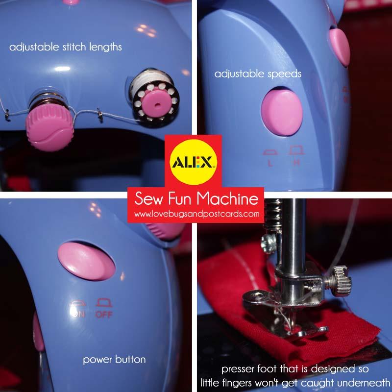 alex sew sewing machine