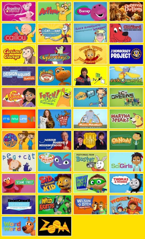 Pbs Kid Shows S