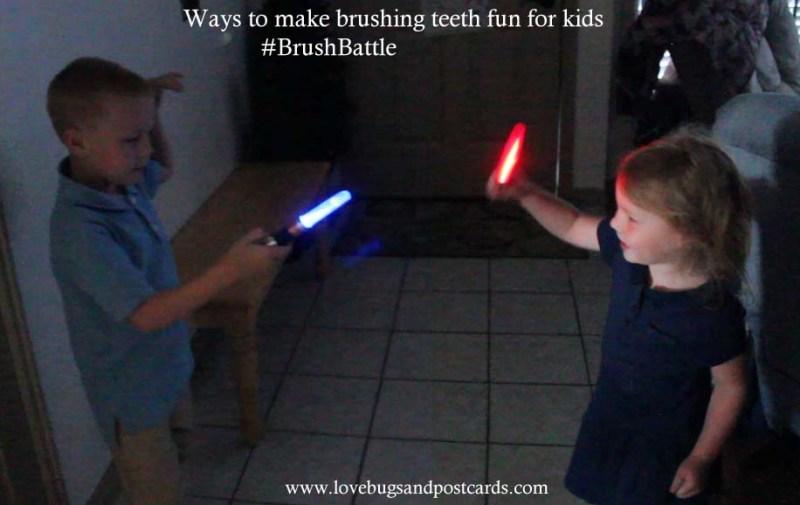 Ways to make brushing teeth fun for kids #BrushBattle