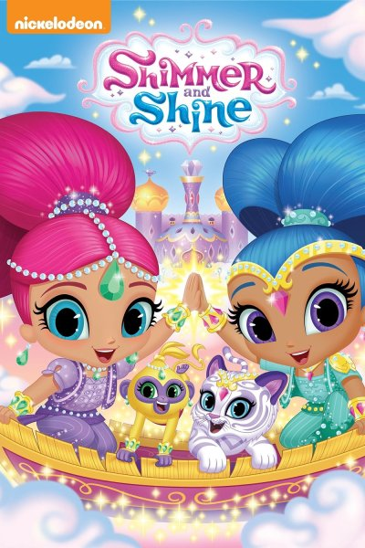 Nickelodeon's Shimmer & Shine on DVD today!