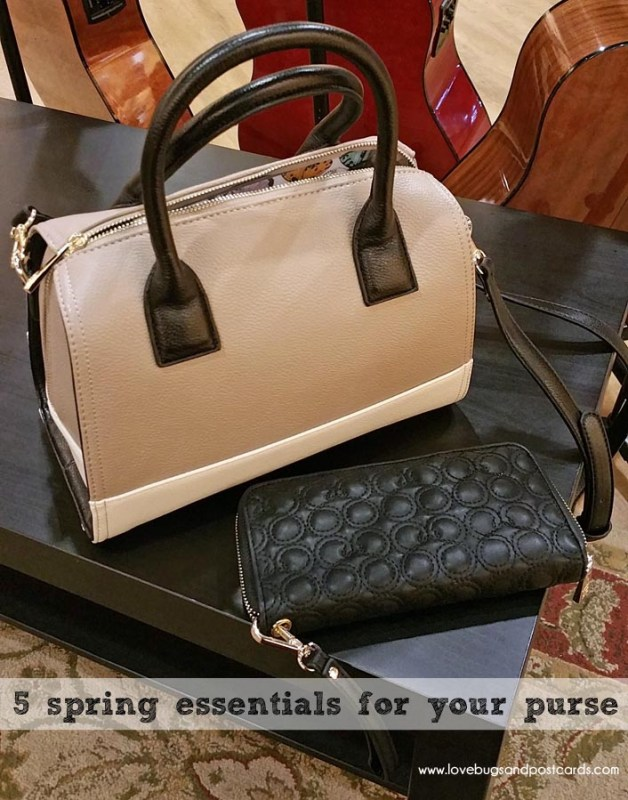 5 spring essentials for your purse