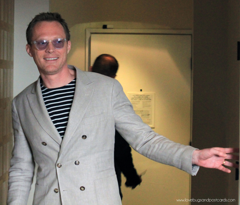 Exclusive Interview with Paul Bettany about #CaptainAmericaCivilWar #CaptainAmericaEvent