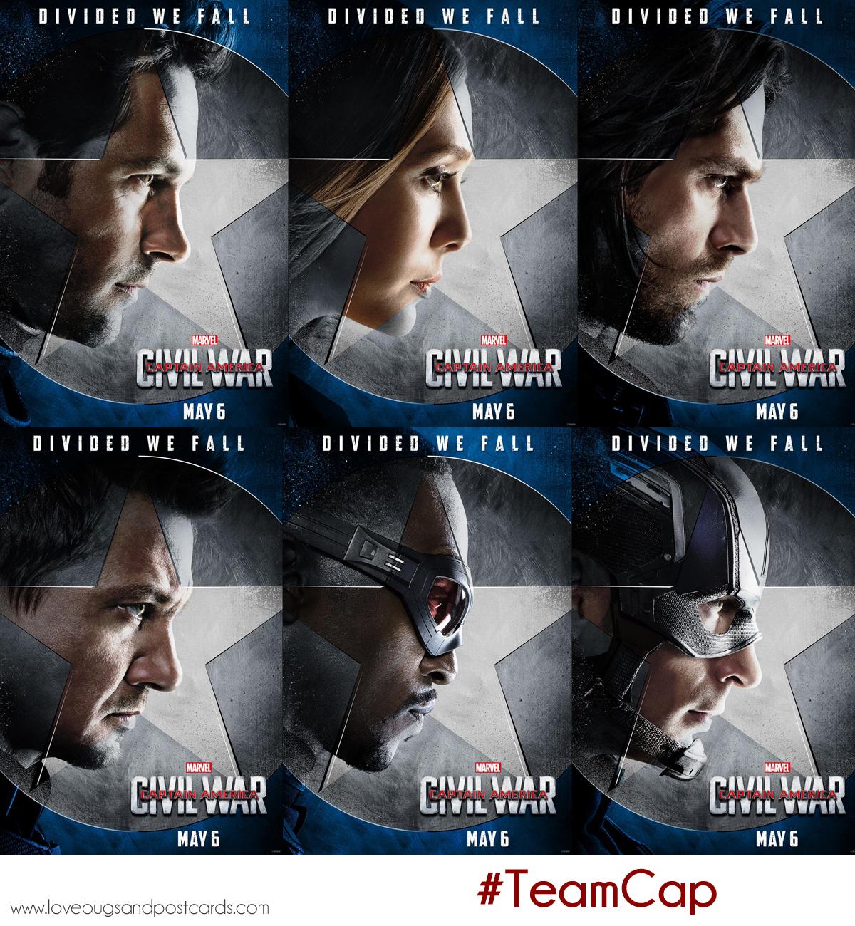 Marvel's Captain America: Civil War #TeamCap