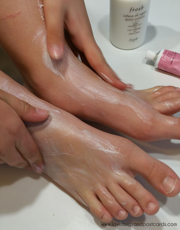 7 steps to have sandal ready feet