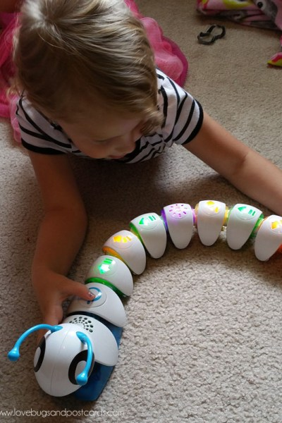 Introduce early learning with the Code-a-pillar™ at @BestBuy