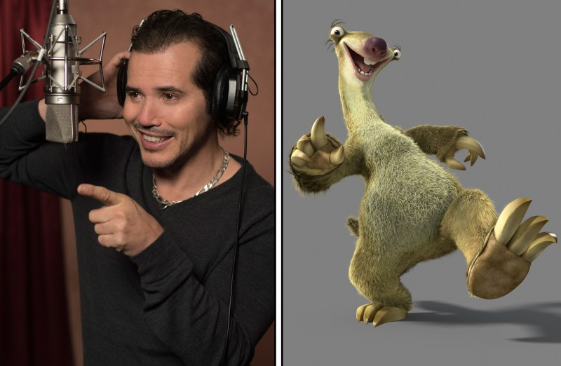 John Leguizamo as the voice of Sid