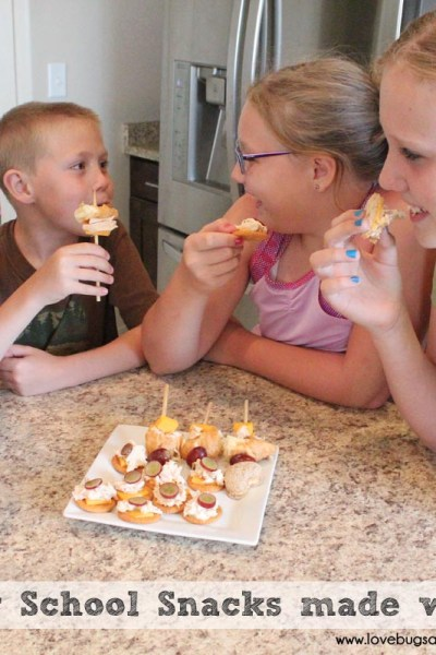 Easy After School Snacks made with Tuna