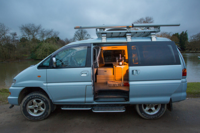 Kitchen Units For Sale 4wd Mitsubishi Delica For Sale | Love Campers