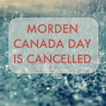 Canada day is cancelled!