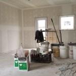 Дом на 10й неделе строительства
