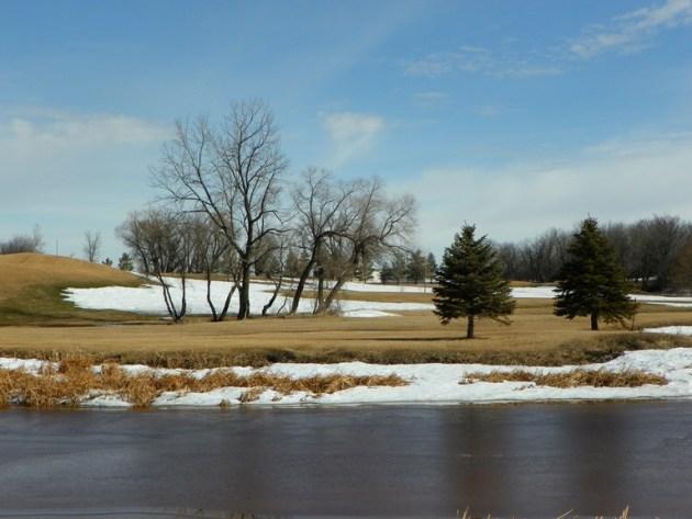 Golf Club - winter time