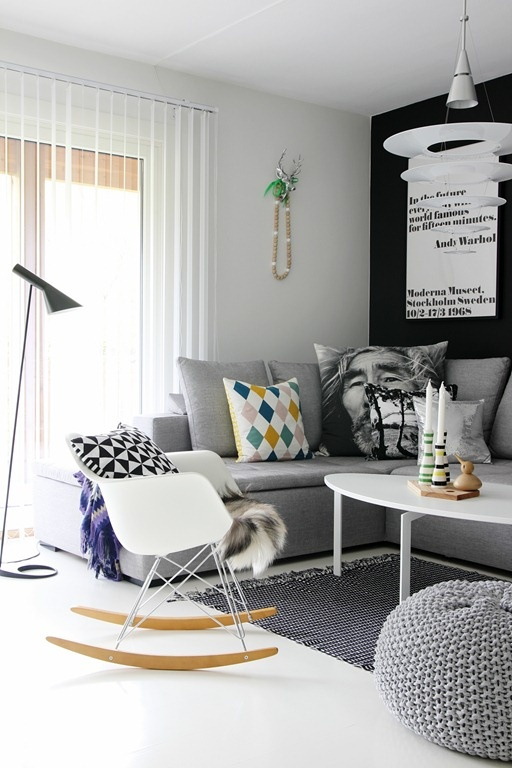 Creating the Illusion of Space in a Small Living Room - Love Chic - how to make a small living room look bigger