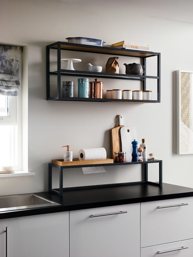 Contemporary Garden Ideas Uk Magnet Kitchens Filming: Shelf Plus - Love Chic Living