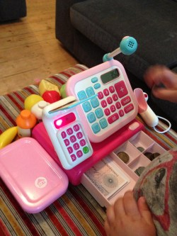 Small Of Cash Register Toy