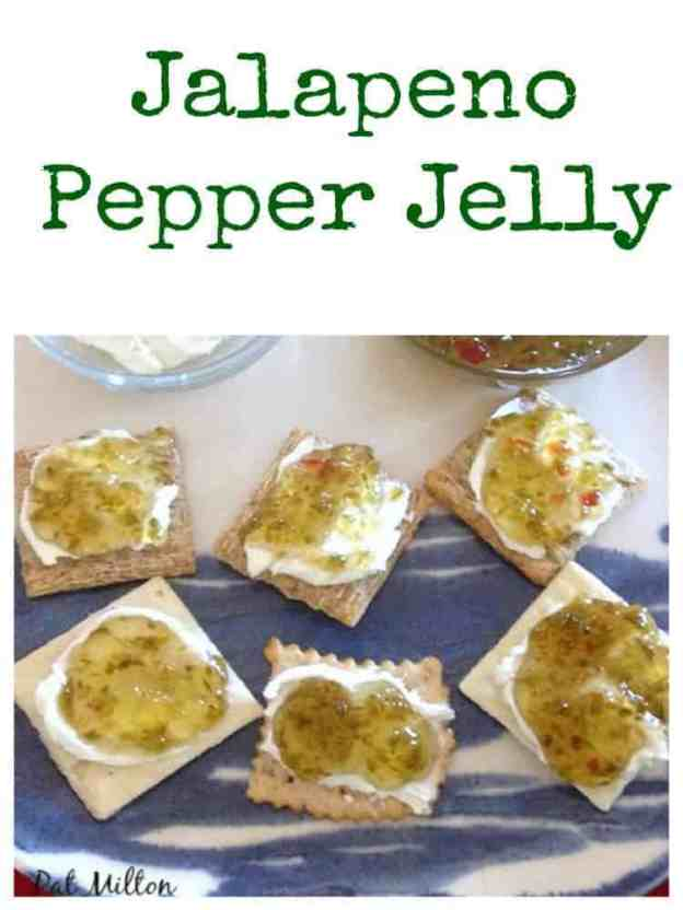 Nanny's Easy Jalapeno Pepper Jelly Great recipe and delicious served ...
