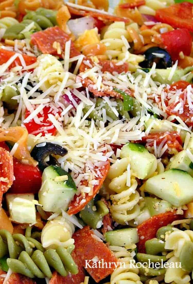 Pasta Party Salad Lovefoodies