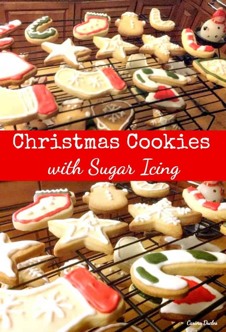 Christmas Cookies with Sugar Icing. These little cookies are such fun ...