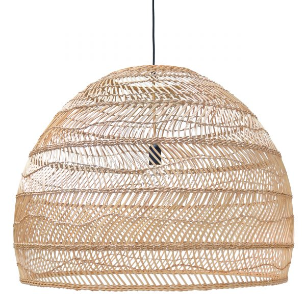 Rattan Lampe Woven Wicker Ceiling Pendant Light - Natural | Love Frankie