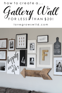 Living Room Gallery Wall - Love Grows Wild
