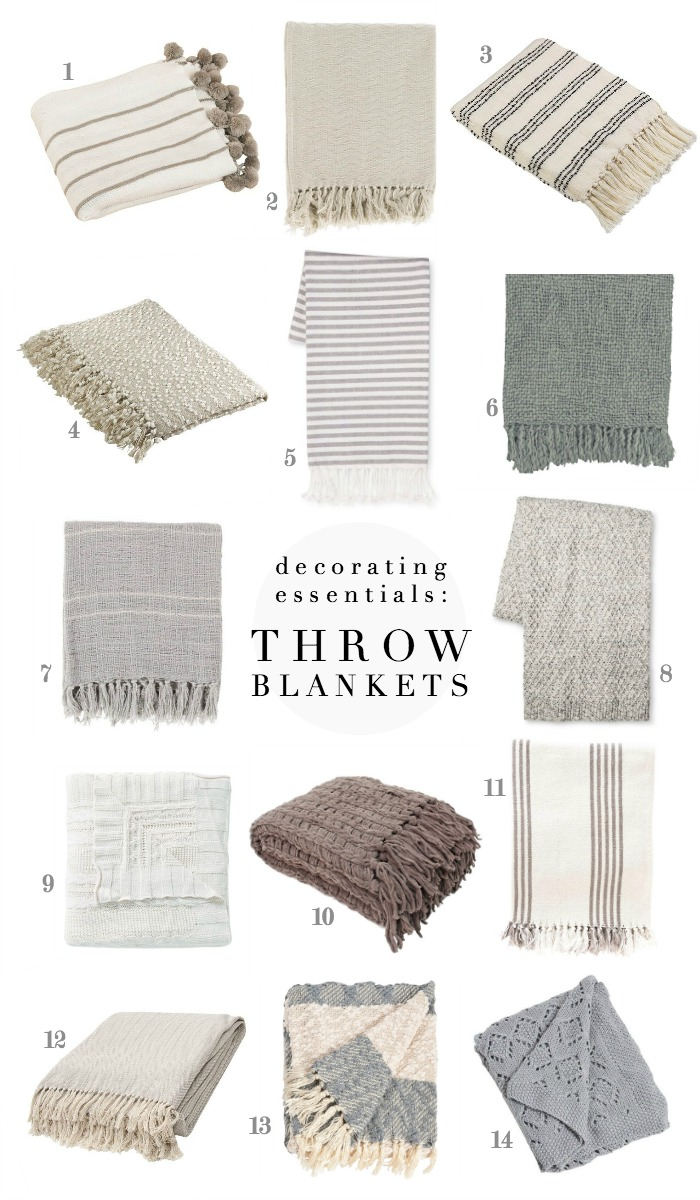 Throw Blankets My Decorating Essentials Throw Blankets Love Grows Wild