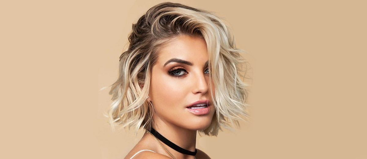 Long Blonde Bob Round Face 21 Chic Short To Long Wavy Hair Styles Lovehairstyles